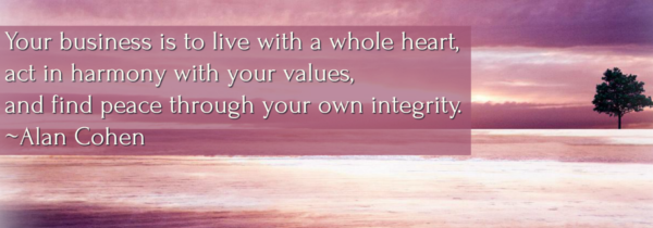 Integrity. Is It Aligned with Your Success?